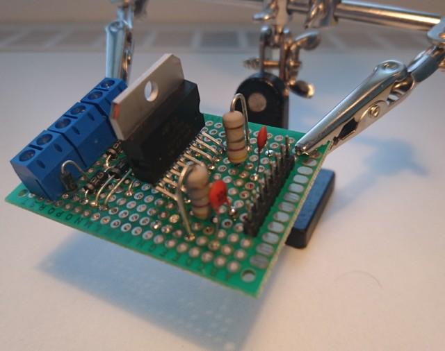 DIY - L298N - Dual H-Bridge